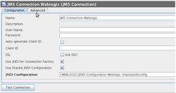 JMS Connection Weblogic
