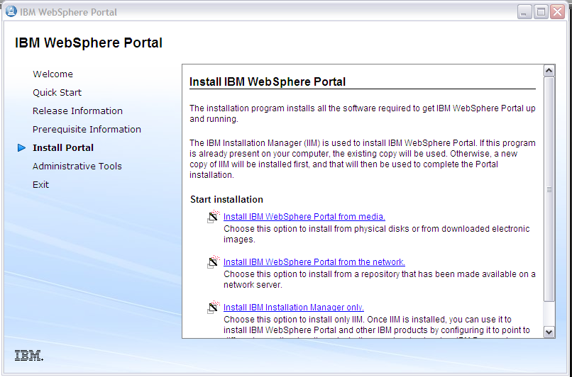 IBM Websphere Portal v 8.0 Installation is a part of Online Training