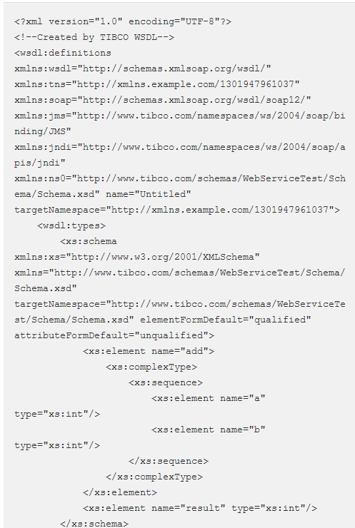 developing soap over jms web services using tibco businessworks and